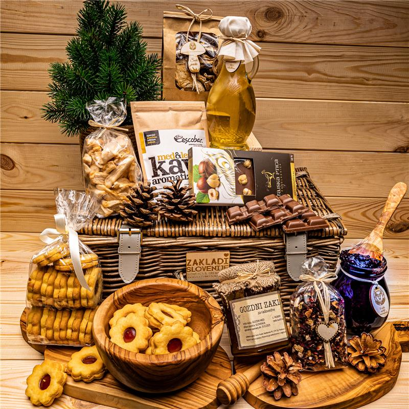 Slovenian gifts - Basket